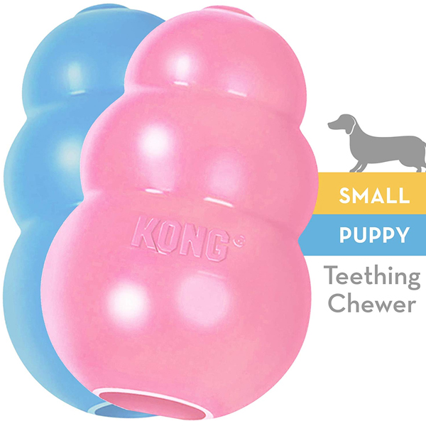 KONG - Puppy Toy - Natural Teething Rubber